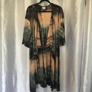 Rare Tie-Dyed LulaRoe Lindsay
